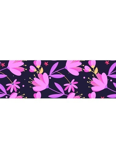Artikel Renkli Yapraklar Runner Masa Örtüsü 43,5x141,5cm Renkli